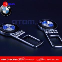 Đầu chốt đai dây an toàn cao cấp xe BMW đính đá