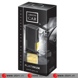Nước hoa ô tô kẹp cửa điều hòa cao cấp AREON CAR PERFUME PLATINUM