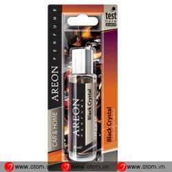 Nước hoa ô tô cao cấp AREON – CAR PERFUME 35ML BLISTER  Black Crystal