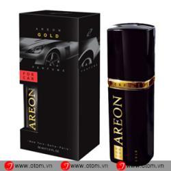 Nước hoa ô tô cao cấp AREON CAR PERFUME GOLD 50ML – Bulgaria