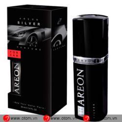 Nước hoa ô tô cao cấp AREON CAR PERFUME SLIVER 50ML – Bulgaria