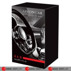 Nước hoa ô tô cao cấp AREON CAR PERFUME RED 50ML – Bulgaria