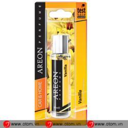 Nước hoa ô tô cao cấp AREON – CAR PERFUME 35ML BLISTER  Vanilla