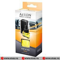 Nước hoa ô tô kẹp cửa điều hòa cao cấp AREON CAR PERFUME SUFR – SUN