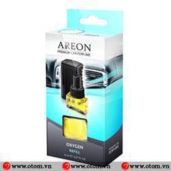 Nước hoa ô tô kẹp cửa điều hòa cao cấp AREON CAR PERFUME OXYGEN