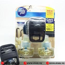 Tinh dầu nước hoa khử mùi ô tô AMBI PUR CAR VANI – P&G