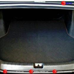 Thảm Lót Cốp Ô Tô Cao Cấp Honda City Fit Theo Xe