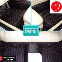 Thảm Lót Sàn Chevrolet Captiva Cao Cấp Otom mat – Made In Việt Nam