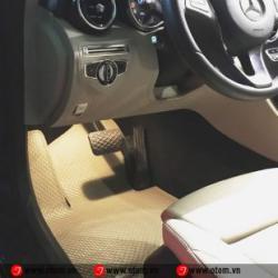 Thảm Lót Sàn Ô Tô Cao Cấp Mercedes C250 Nhập Khẩu Thái Lan