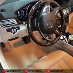 Thảm Lót Sàn Ô Tô Cao Cấp Mercedes E300 AMG Nhập Khẩu Thái Lan
