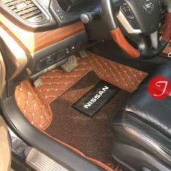 Thảm lót chân ô tô Nissan X-Trail cao cấp – Otom mat made in Việt Nam