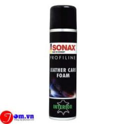 Bọt làm sạch và bảo vệ da SONAX Profiline LeatherCare Foam 400ml