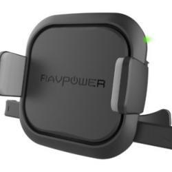 Giá Đỡ Điện Thoại Ô Tô Tích Hợp Sạc Không Dây RAVPower RP-SH008