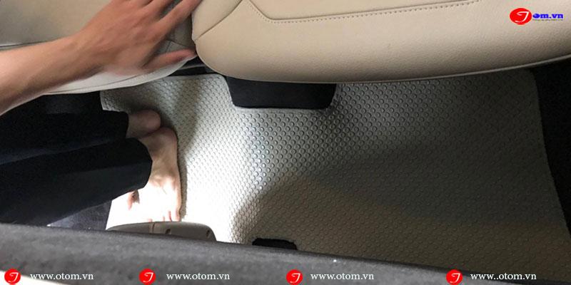 Hình ảnh thực tế thảm lót sàn ô tô xe hơi Mercedes GLS400 4MATIC Nhập khẩu thái lan Fit theo model xe