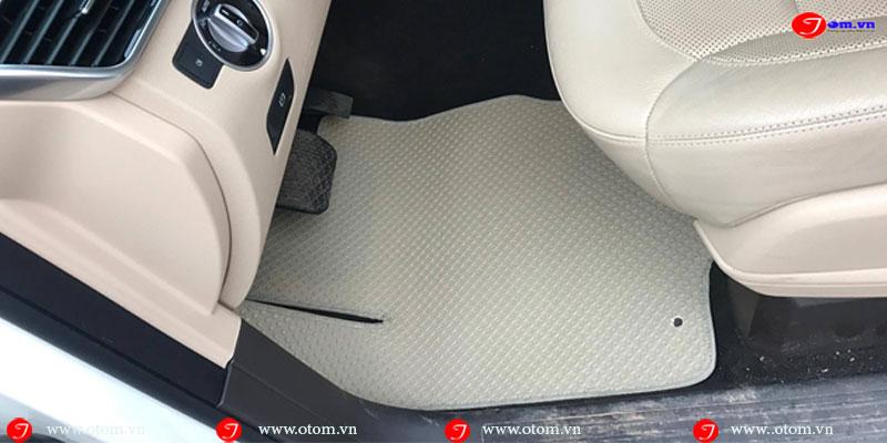 Hình ảnh thực tế thảm lót sàn ô tô xe hơi Mercedes Mercedes GLS400 4MATIC Nhập khẩu thái lan Fit theo model xe