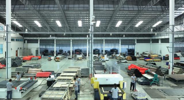 Nhà máy sản xuất thảm lót sàn ô tô Bakliner tại Thái Lan