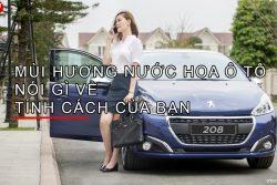 Mùi hương nước hoa ô tô nói gì về tính cách của bạn? – Otom Việt Nam